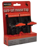 Pest Stop Sure Set Plastic Mouse Trap Pack of 2
