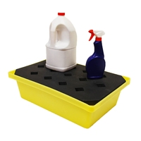 Spill Tray with grid deck 22 l capacity