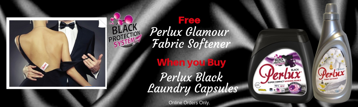 Perlux lack Capsules and Fabric Softener