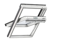 Velux White PU Centre Pivot Roof Window - 55X78CM