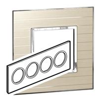 Arteor (British Standard) Plate 8 Module Round Casual | LV0501.2788