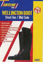 Steel Toe & Midsole Wellington 42-8