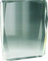 10cm Crystal Block (Satin Box)