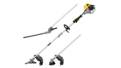 Powerplus 33cc 3-In-1 Combi Strimmer, Brush Cutter & Hedge Cutte