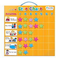 Small magnetic star chart