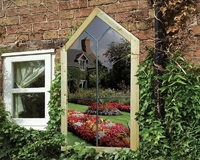 Grange Mirror Gothic Window