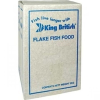 King British Goldfish Flake 2kg x 1