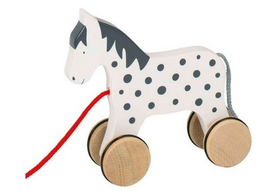 pull along horse toy