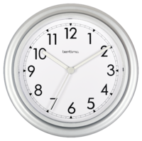 ACCTIM WALL CLOCK SILVER