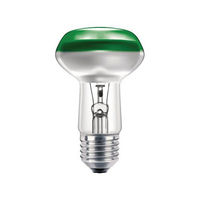 R63 40W Green Reflector Lamp