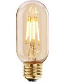 4W LED VINTAGE TUBULAR  DIMMABLE LAMP 240 VOLT ES 300 LUMEN 2000K 15000 HOUR