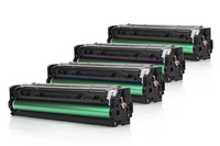 Compatible HP Multi-Pack CF210 131X Assorted >2400 each Page Yield