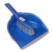 Leecroft Dustpan & Brush Stiff (WT861)
