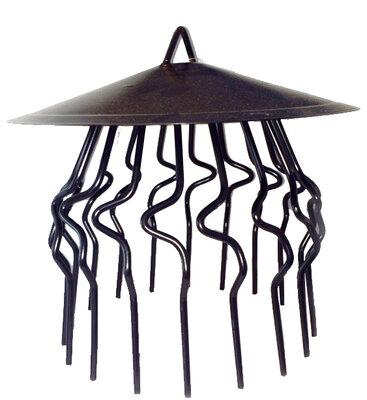 Chimney/Crow Guard With Rain Cover