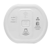 10 YEAR BATTERY OPERATED CARBON MONOXIDE ALARM