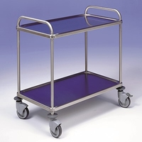 Trolley 2 Tier Stainless Steel 900x550x960mm