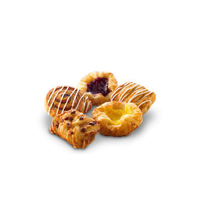 Mixed Selection Sweet Pastries- Fully Baked 45x100g (DA45)