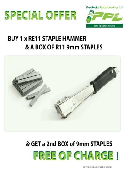 staple hammer special offer