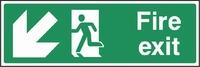 Emergency Escape Sign EMER0005-0353