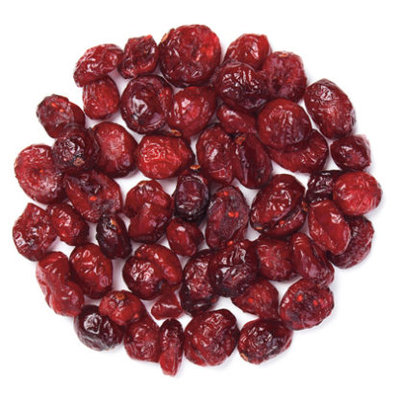 SLICED DRIED CRANBERRIES 11.34KG (25LBS)