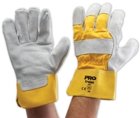 Handyman Gloves Yellow-Grey