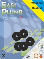 """Easi Plumb 5 Pce 3/4"""" Flat Tap Washers"""