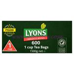 Lyons Green 600s Tea Bags (Original) 1Cup
