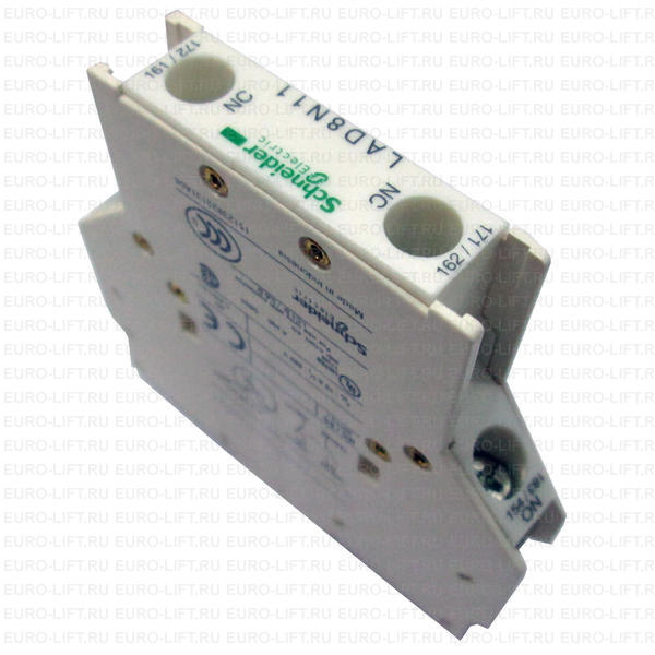 Contactor Auxiliary Block 1 N/O 1 N/C Side