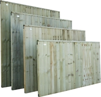 Closeboard Panel Pressure Treated 1.83m(W) x 1.5m(H)