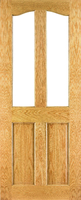 DEANTA NM2 UNGLAZED OAK DOOR 1981MM X 660MM X 45MM