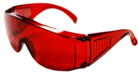 DMI - ADULT UV GLASSES (RED TINT)