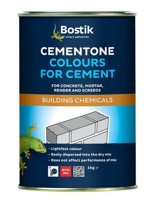 Bostik Cementone Powder Cement Dye Black 1Kg