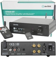 STA50-BT Digital Stereo Amp with Bluetoot R/C