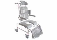 Childrens Height Adjustable Shower/Commode Chair