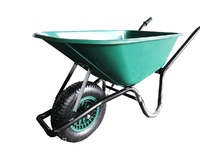 VICTOR WHEELBARROW 100L POLY TUB