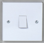 DETA VIMARK FLUSH SWITCH 10AMP 1 GANG 2 WAY