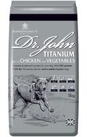 Dr John Titanium Dog Food 15kg [Zero VAT]