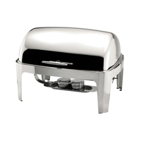 Chafing Dish Roll Top Stainless Steel 1/1 Gastro 8.5Litre