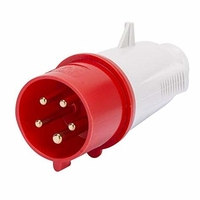 Plug Top 380 volt 32 amp 5 pin