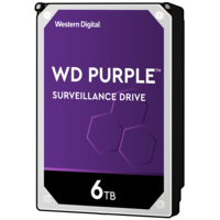 "WD PURPLE 6TB Surveillance 3.5"" HDD"