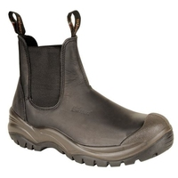 CHUKKA LEATHER PULLON SAFETY BOOT