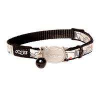 Rogz Refloctocat Cat Collar - Black Cat x 1