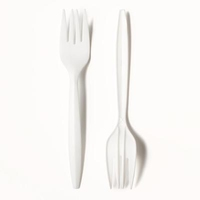 Catering Forks (Plastic)-Carizma-(100)