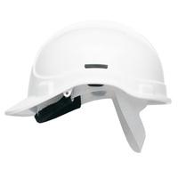 WHITE Elite Scott Protector Safety Helmet