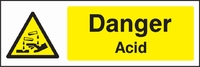 Warning and Chemical Danger Sign WARN0001-1709
