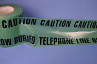 Safety Tape -Phone Cable - 365m Roll