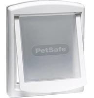 Staywell No.740 Medium Dog Door + Lock Panel - White x 1