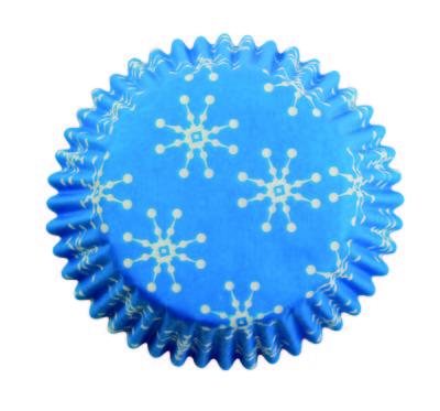 BC752 Snowflakes std baking cases 60pk
