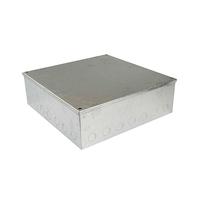 12x12x3 Galv. KO Adaptable Box