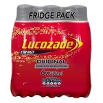 380 Lucozade Original Bottle 6pk x4